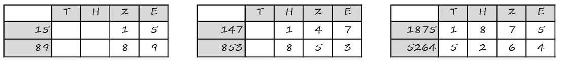 tzheV2 - Schriftlich addieren und substrahieren - schriftlich addieren substrahieren, Addition, Schriftlich, Substration, plus, minus, Aufgaben, dritte Klasse,