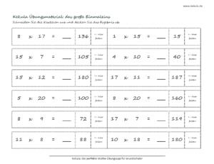 grundschule mathe grosse einmaleins 2 300x230 - Übungsblätter Mathe Grundschule - Übungsblätter Mathe Grundschule