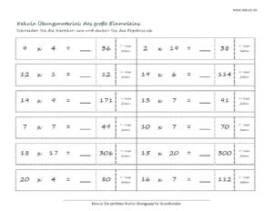 grundschule mathe grosse einmaleins 300x232 - Übungsblätter Mathe Grundschule - Übungsblätter Mathe Grundschule