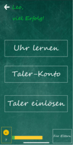 Uhrzeit lernen 151x300 - Die Uhr & Uhrzeiten Lern-App - Die Uhr & Uhrzeiten Lern-App