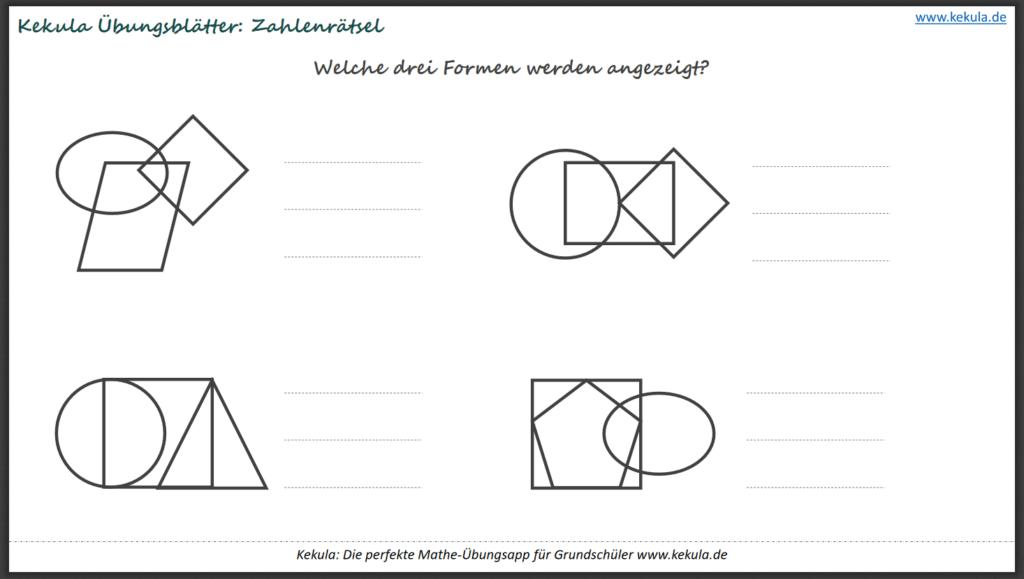 geometrie form 1024x579 - Übungsblätter Geometrie - Übungsblätter Geometrie