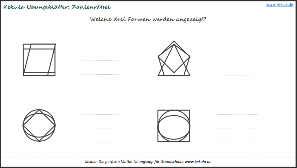 geometrie form üben Grundschule 1024x580 - Übungsblätter Geometrie - Übungsblätter Geometrie