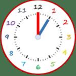 Uhr 1 00 150x150 - Die Uhr & Uhrzeiten Lern-App - Die Uhr & Uhrzeiten Lern-App