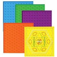 Betzold Satz mit 6 doppelseitigen Geometriebrettern
