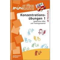 miniLÜK-Heft: Konzentrationsübungen 1