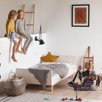 Kutikai Kinderbett aus Holz Modell Peekaboo (160x80)