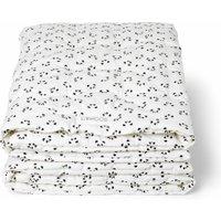 LIEWOOD Baby-Decke / Krabbeldecke Panda aus Bio-Baumwolle (120x120 cm) in weiß