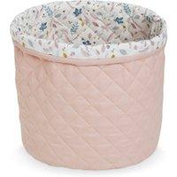 CamCam Aufbewahrungskorb Blossom Pink (30x33 cm) aus Bio-Baumwolle
