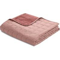 Flexa ROOM Steppdecke Tagesdecke (230x130 cm) aus 100% Baumwolle in rosa
