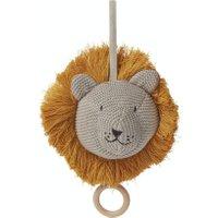 LIEWOOD Musik-Mobile für Babybett oder Wickeltisch aus Bio-Baumwolle Löwe in beige