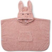 LIEWOOD Badeponcho mit Kapuze Orla Hase aus Bio-Baumwolle (2 bis 4 Jahre) in rosa