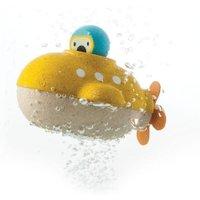 Plantoys Unterwasserboot Badespielzeug aus Holz für Kinder (ab 1 Jahr)