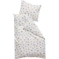 Leander Baby-Bettwäsche aus Bio-Baumwolle Forest (70x100 / 40x45) Dusty Blue