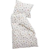 Leander Baby-Bettwäsche aus Bio-Baumwolle Forest (70x100 / 40x45) Cappuccino