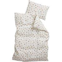 Leander Junior-Bettwäsche aus Bio-Baumwolle (100x135 / 40x60) Cappuccino
