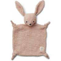 Liewood Schmusetuch Lotte Plüsch Hase aus Bio-Baumwolle in rosa