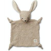 Liewood Schmusetuch Lotte Plüsch Hase aus Bio-Baumwolle in grau