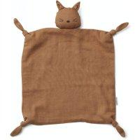 Liewood Schmusetuch Agnete Katze aus 100% Bio-Baumwolle in terracotta