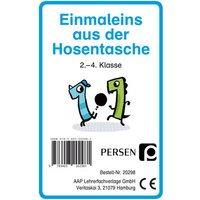Persen Verlag Einmaleins aus der Hosentasche