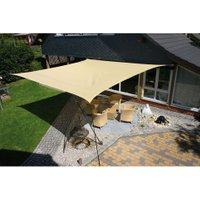 Eduplay Sonnensegel Farbe Quadrat (3m x 3m) Ausführung beige