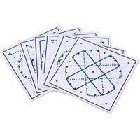 Betzold Arbeitskarten für das runde Geometriebrett