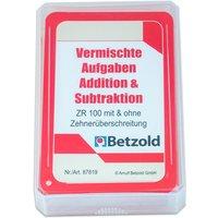 Betzold Kartensatz zum magischen Zylinder - Addition/Subtraktion