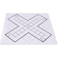 Betzold XL-Ludo-Spieloberfläche aus Papier