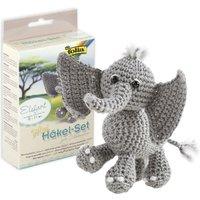 Häkelset Mini - Elefant