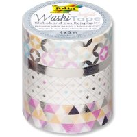 Washi Tape - Hotfoil Silber
