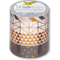Washi Tape - Hotfoil Kupfer