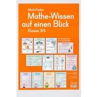 Verlag an der Ruhr Mathe-Wissen auf einen Blick - Klasse 3-4
