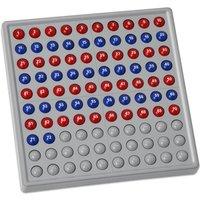 Schubi Abaco 100 mit Zahlen Farbe rot/blau