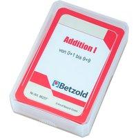 Betzold Kartensatz für den Magischen Zylinder - Addition I