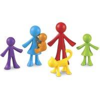Learning Resources Kunterbunte Rechenfamilie