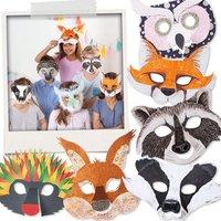 Kindermasken zum Bemalen und Bekleben