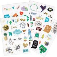 Paper Patches/3D-Effekt Sticker Nobles DIN A5 - Stanzteile aus Karton