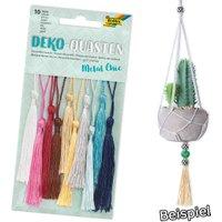 Deko-Quasten Metallic