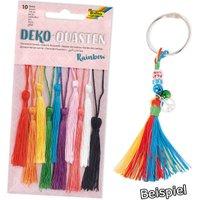 Deko-Quasten Rainbow