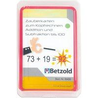 Betzold Zauberkarten zum Kopfrechnen - Addition und Subtraktion bis 100
