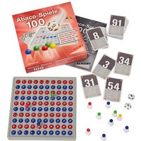 Schubi Abaco Spiele 100 mit Abaco rot/blau