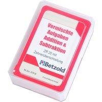 Betzold Kartensatz für den Magischen Zylinder - Addition/Subtraktion
