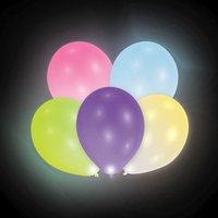 Bunte LED-Latexballons