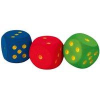 Volley Schaumstoffwürfel - Augenwürfel Farbe orange