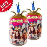 Helium Ballongasflaschen für bis zu 200 Ballons
