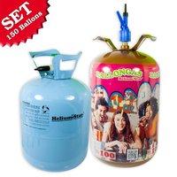 Helium Ballongasflaschen für bis zu 150 Ballons