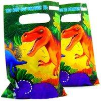 Dino Kindergeburtstag Mitgebselbeutel aus Folie