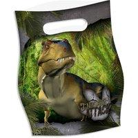 Dinosaurier Geschenkbeutel im Dino-Attack-Design