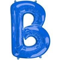 Folienballon Buchstabe B - Blau