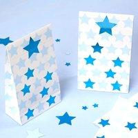 Geschenktütchen Kleiner Stern in blau