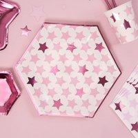 Partyteller Kleiner Stern in pink